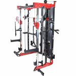 Smith Multistation Power Rack met gewichten-100714412