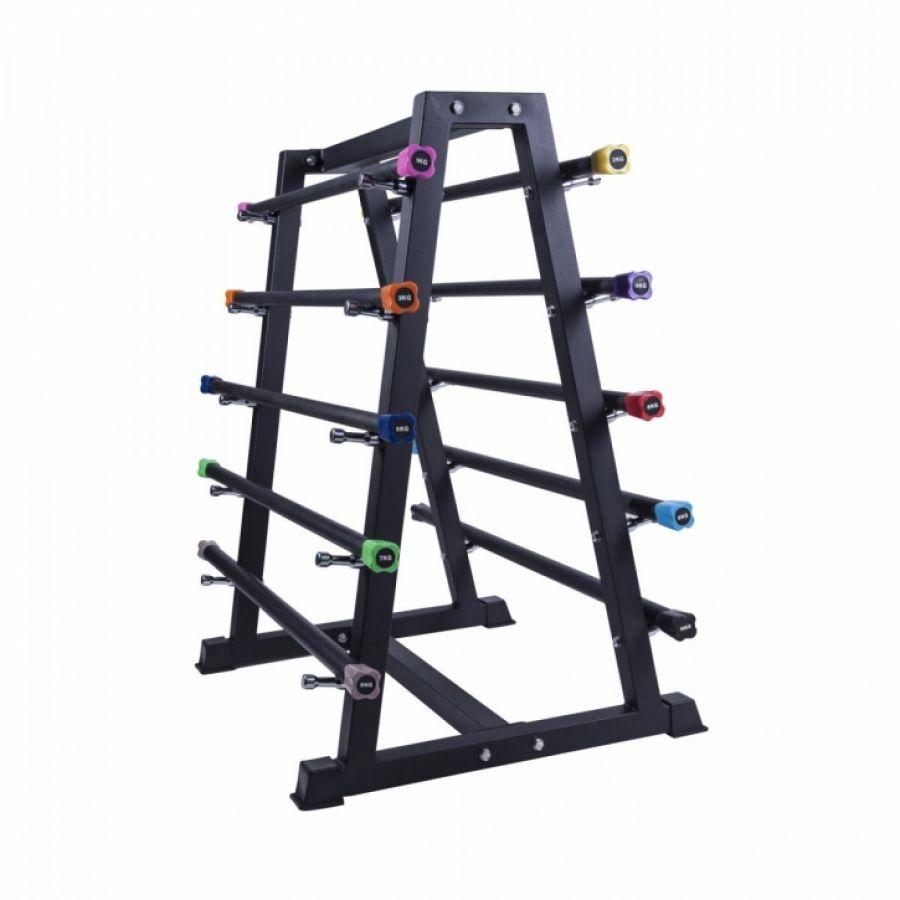 Aerobic halterstangen inclusief standaard