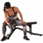 ICONIQ Vlakke fitnessbank BX1-100719540