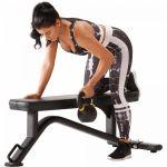 ICONIQ Vlakke fitnessbank BX1-100719541