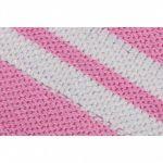 Polsbanden (elastisch katoen) Roze/Wit-100731505