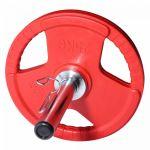 Halterschijven set 50/51mm Chroom 5 kg inclusief koffer-100738046