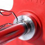 Halterschijven set 50/51mm Chroom 5 kg inclusief koffer-100738047