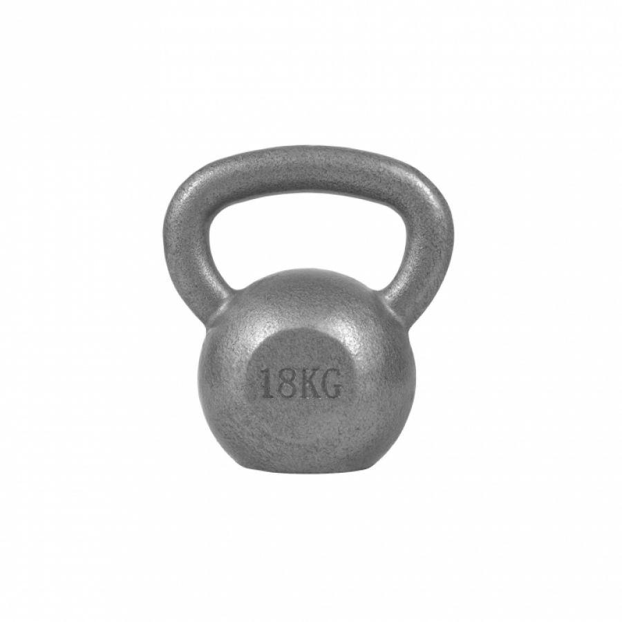 Kettlebell 18 kg Gietijzer - Gorilla Sports