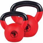 Voordeelset Kettlebells 12 en 16 kg Rubber Coating-100739818
