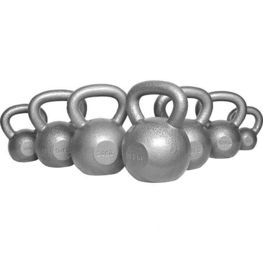 Voordeelset Kettlebells 144 kg Gietijzer