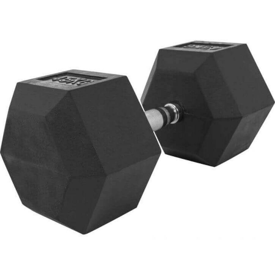 Dumbell 45 kg Hexagon Rubber