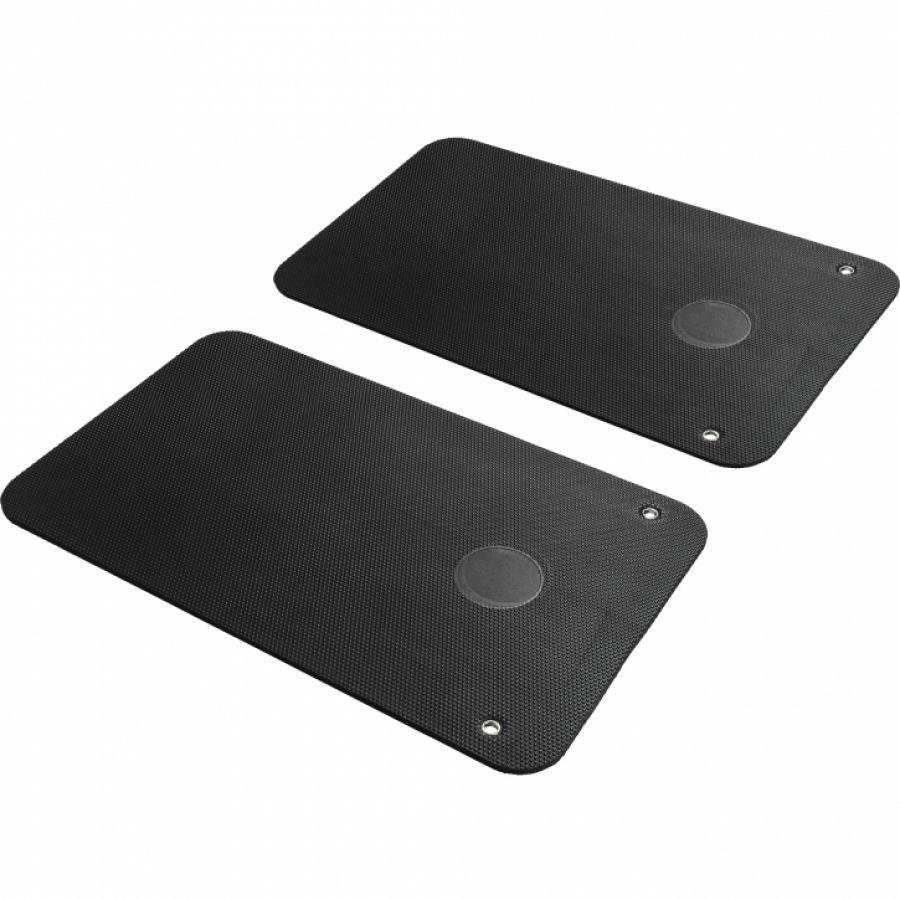 Yogamat 101 x 60 x 1 cm - Set van 2