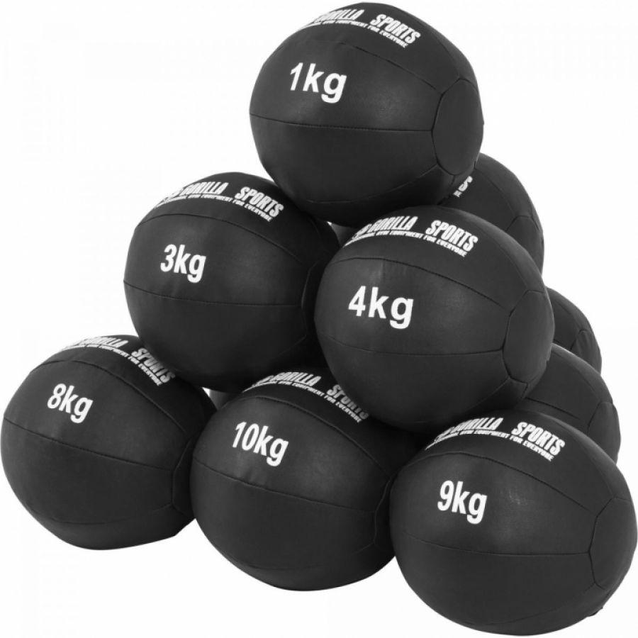 Medicine ballen leer set 55 kg