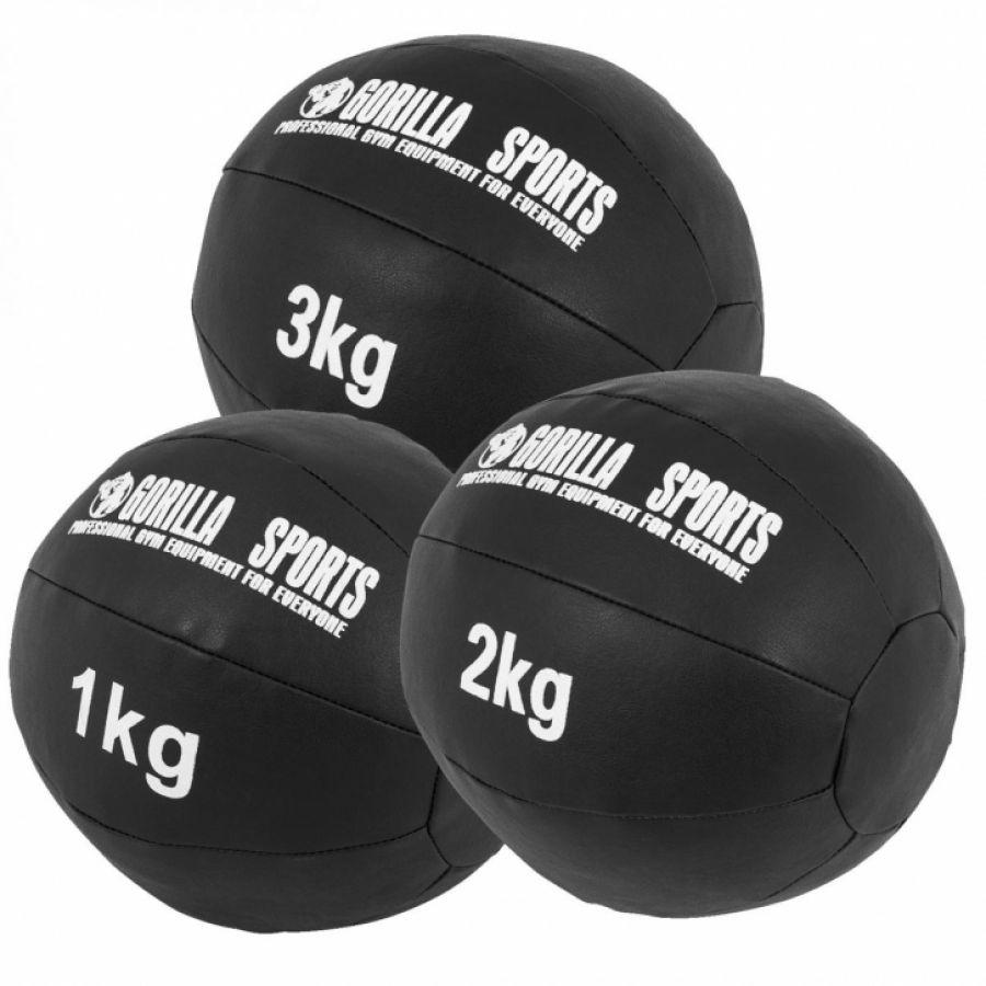 Medicine ballen leer set 6 kg