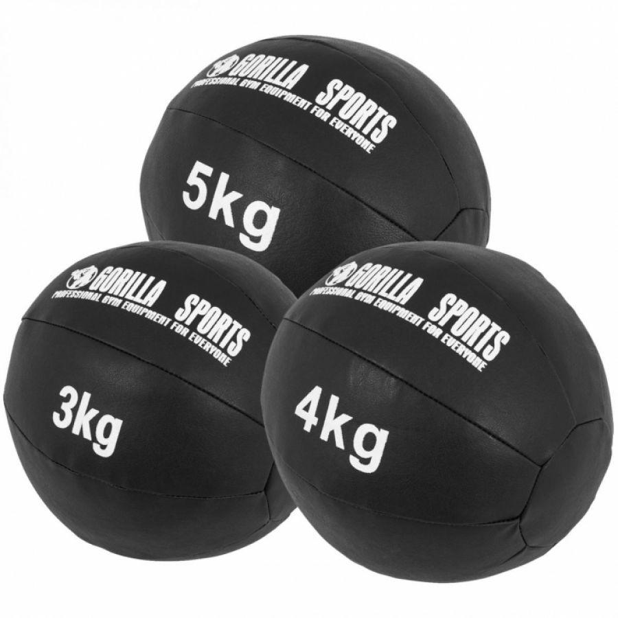 Medicine ballen leer set 12 kg