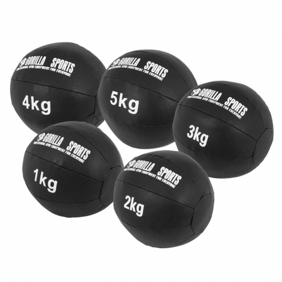 Medicine ballen leer set 15 kg