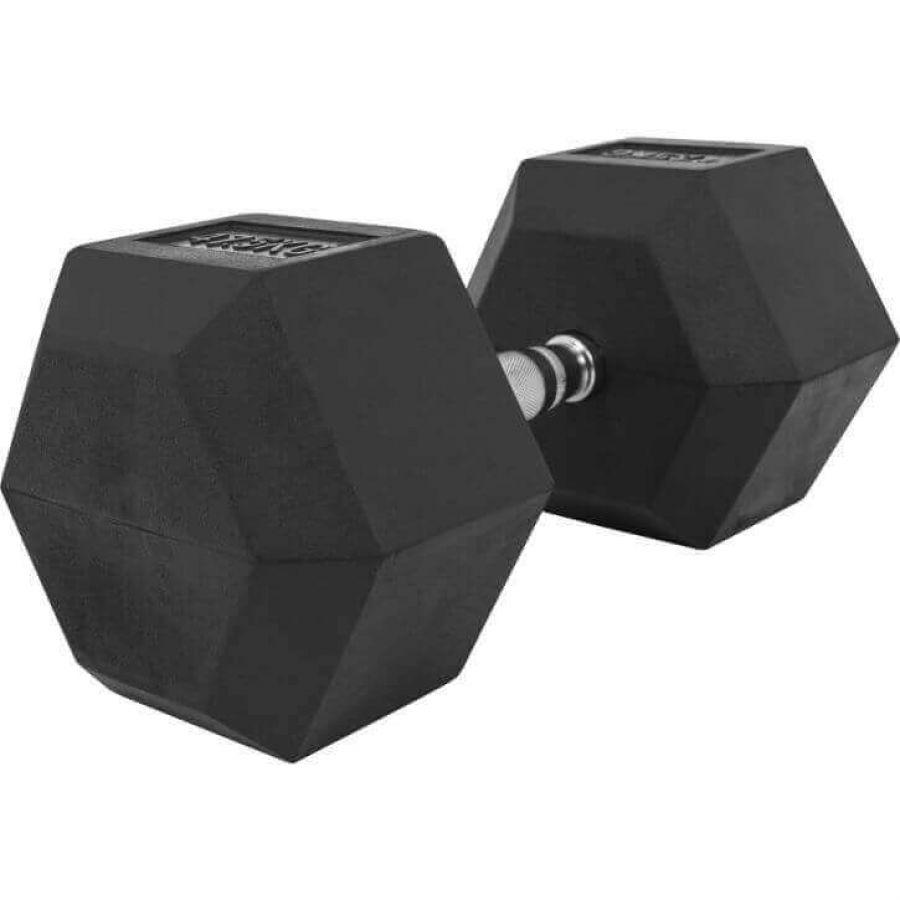 Dumbell 47,5 kg Hexagon Rubber