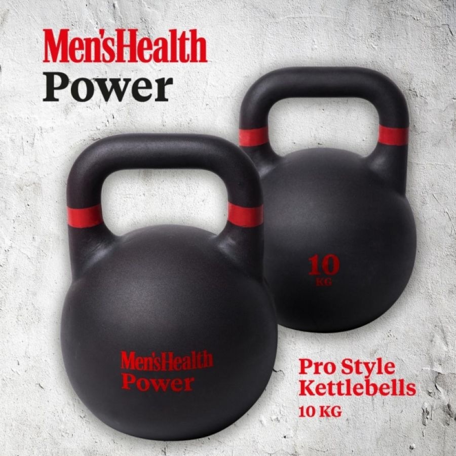 Mens Health Pro Gietijzer Kettlebell 10 kg