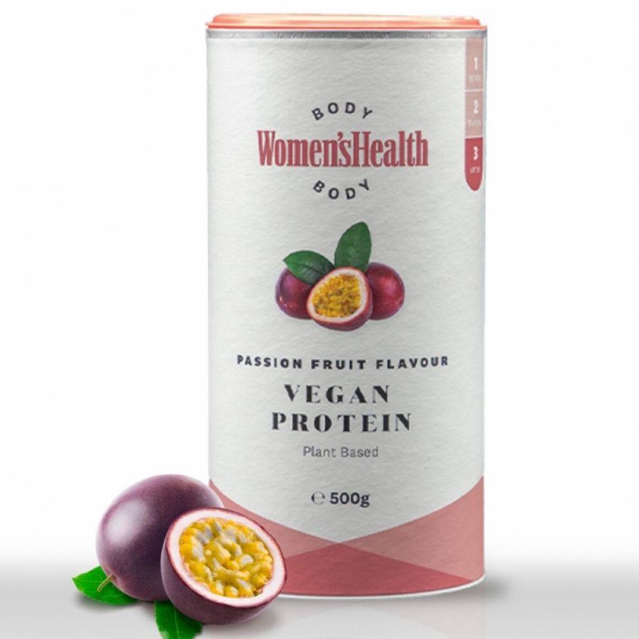 Womens Health Vegan Protein Passievrucht 500g