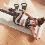 Opvouwbare Yogamat incl. Opbergtas-100753238