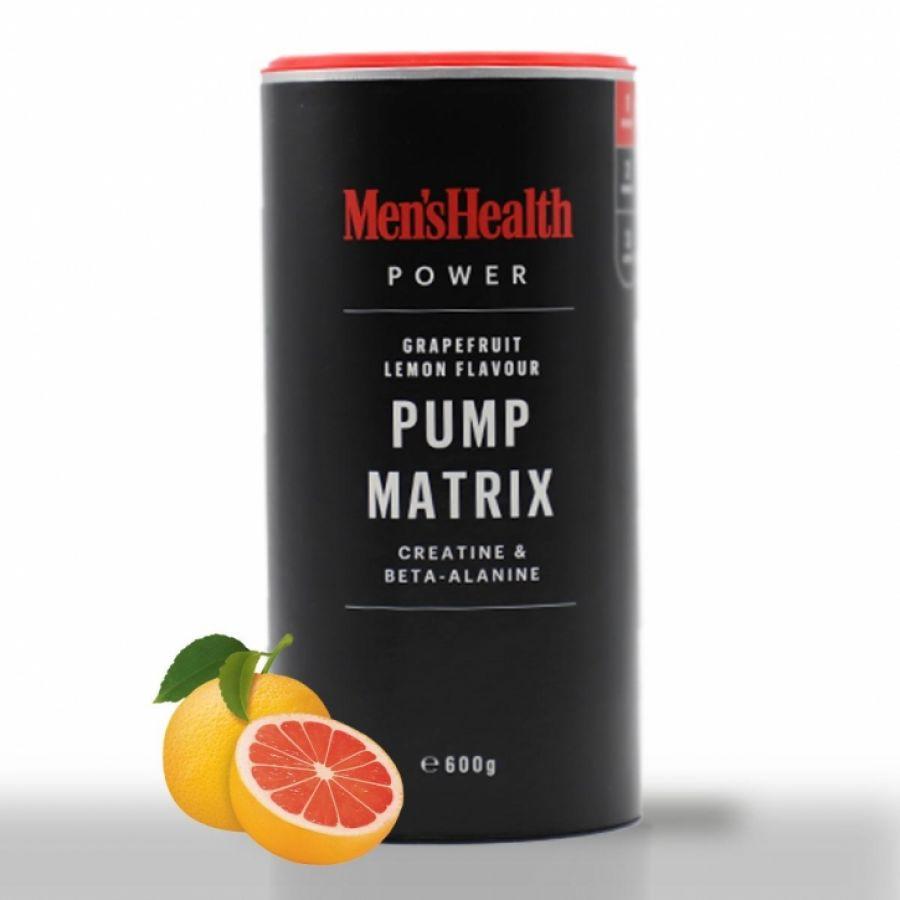 Mens Health Pump Matrix Grapefruit/Citroen 600g