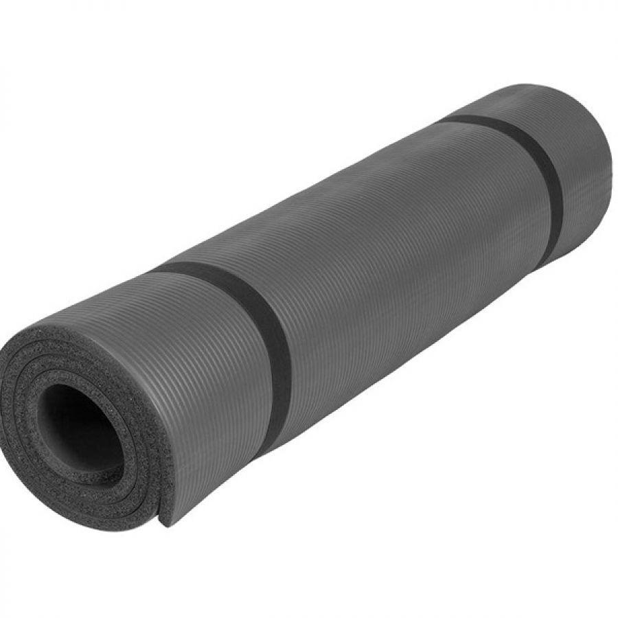 Outlet Deal Yogamat Deluxe (190 x 100 x 1,5 cm) zwart