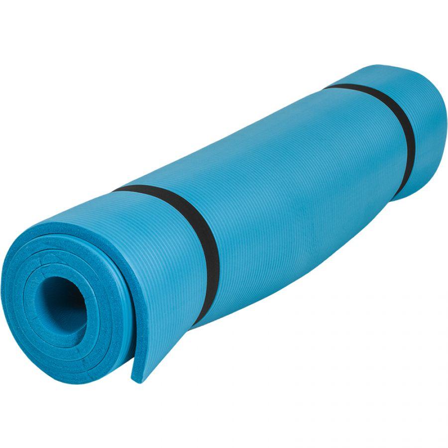 Outlet Deal Yogamat Deluxe (190 x 100 x 1,5 cm) Blauw