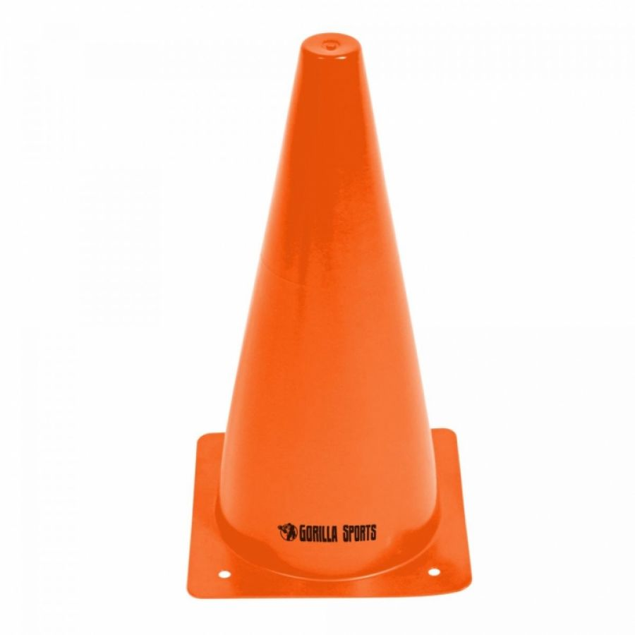 Set van 10 pionnen 30 cm oranje