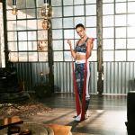 Fitnessbanden set van 5 Latex 200 cm-100757106