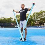 Fitnessbanden set van 5 Latex 200 cm-100757107